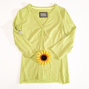 Boden green 3/4 sleeve top size 6